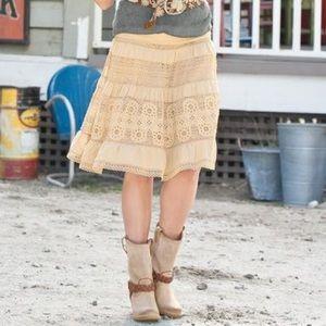 Sundance Black Noonday to Nightfall Linen Skirt